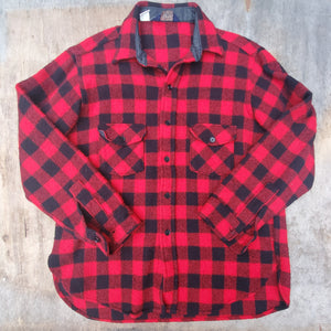 Buffalo Plaid Woolrich C.P.O. Jacket