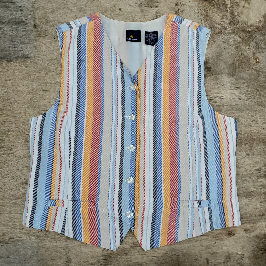 Lizsport Striped Vest