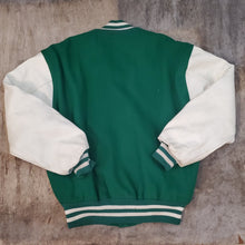 Load image into Gallery viewer, Green & White Letterman