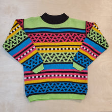 Load image into Gallery viewer, 80's Colorful Sweater