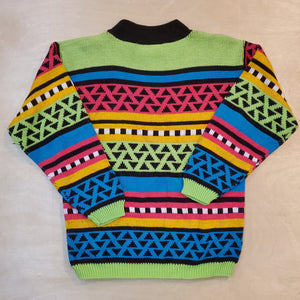 80's Colorful Sweater