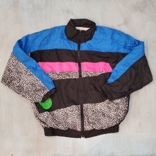 Load image into Gallery viewer, Colorblocked Nylon Jacket