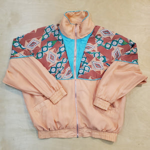 Patterned Silk Jacket