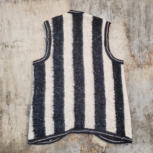 Striped Knit Vest