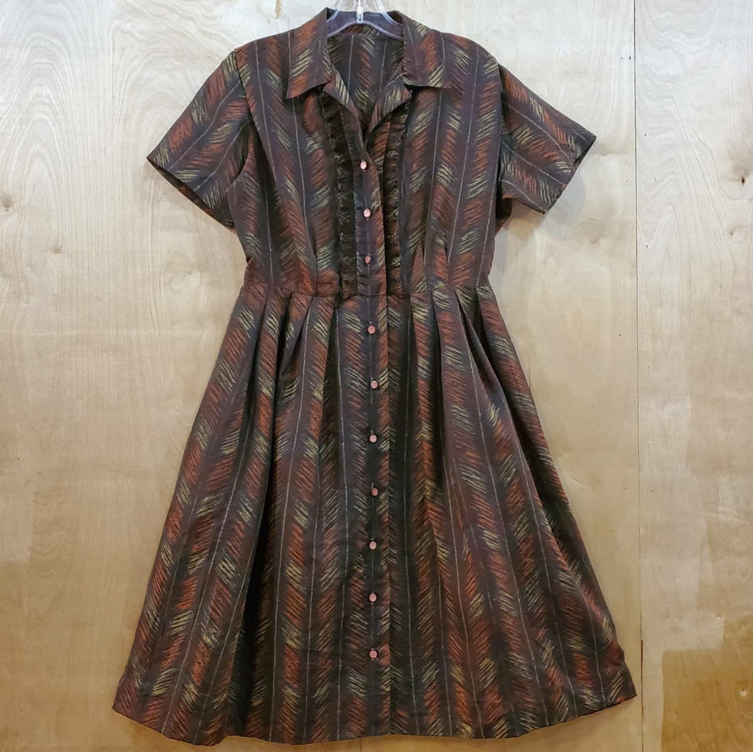 Patterned Shirtdress