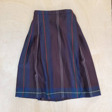 Load image into Gallery viewer, Plaid Wool Skirt
