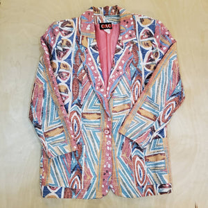 Abstract Blazer