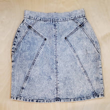 Load image into Gallery viewer, Acid Denim Skirt