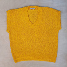 Load image into Gallery viewer, Yellow Knit Sweater