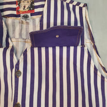 Load image into Gallery viewer, Utility Pocket Striped Vest