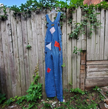 Load image into Gallery viewer, 70's Dee Cee Patchwork Overalls