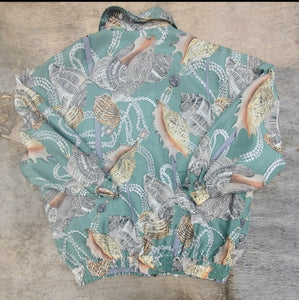 Seashell Silk Jacket