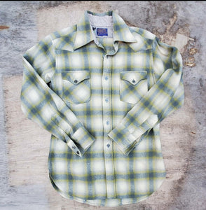 Pendleton Western Plaid Shirt
