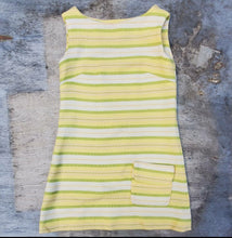 Load image into Gallery viewer, Yellow Striped Dress