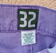 Load image into Gallery viewer, *SOLD* IZOD Purple Pleated Shorts