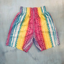 Load image into Gallery viewer, Elastic Waist Rainbow Shorts
