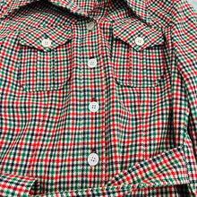 Load image into Gallery viewer, Belted Plaid Jacket