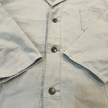 Load image into Gallery viewer, *SOLD* 70's Sanforized Denim Labcoat