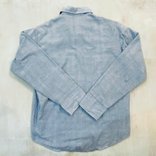 Load image into Gallery viewer, Flannel Lined Chambray Shirt