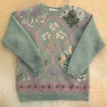 Load image into Gallery viewer, Mohair Floral Sweater