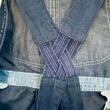 Load image into Gallery viewer, Lee Union Made Overalls w/ Elastic Suspenders in 38x28