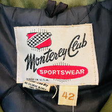 Load image into Gallery viewer, Monterey Club Sportswear Coat