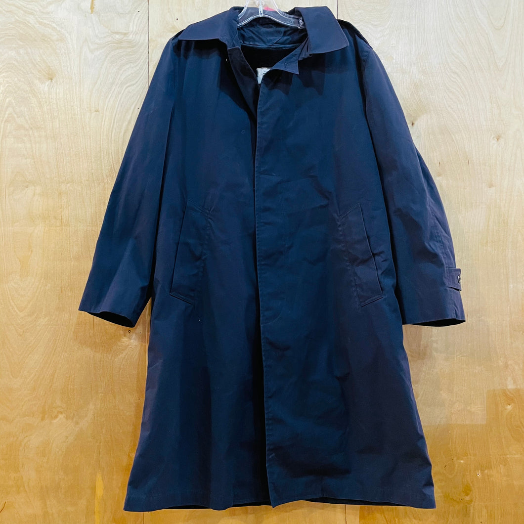 Military Fleece Lined Overcoat