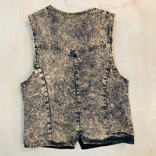 Load image into Gallery viewer, Denim/Suede Vest