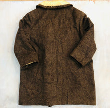 Load image into Gallery viewer, Fleece Lined Wool Pea Coat