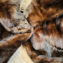 Load image into Gallery viewer, Full Body Dark Brown Mink Fur Coat