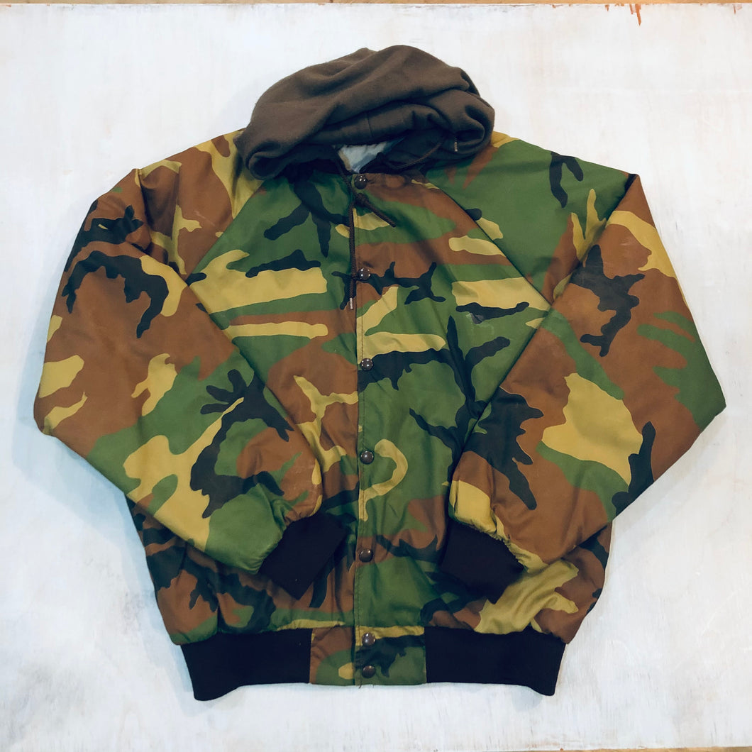Camo Insulated Wind Breaker