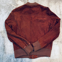Load image into Gallery viewer, Nubuck Bomber Jacket