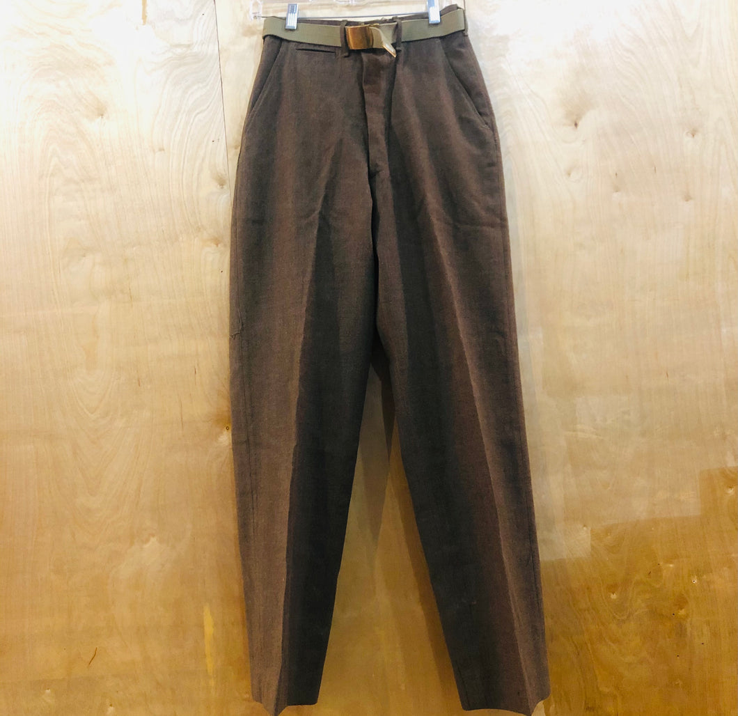 Vintage Army Dress Pant w/ Belt