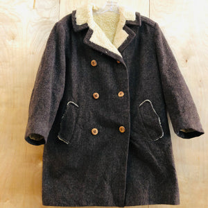 Fleece Lined Wool Pea Coat