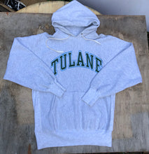 Load image into Gallery viewer, Tulane University Hooded Sweatshirt