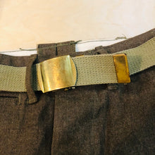 Load image into Gallery viewer, Vintage Army Dress Pant w/ Belt