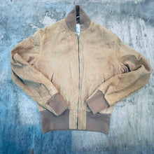 Load image into Gallery viewer, 60's Henri Savard Nubuck Leather Jacket