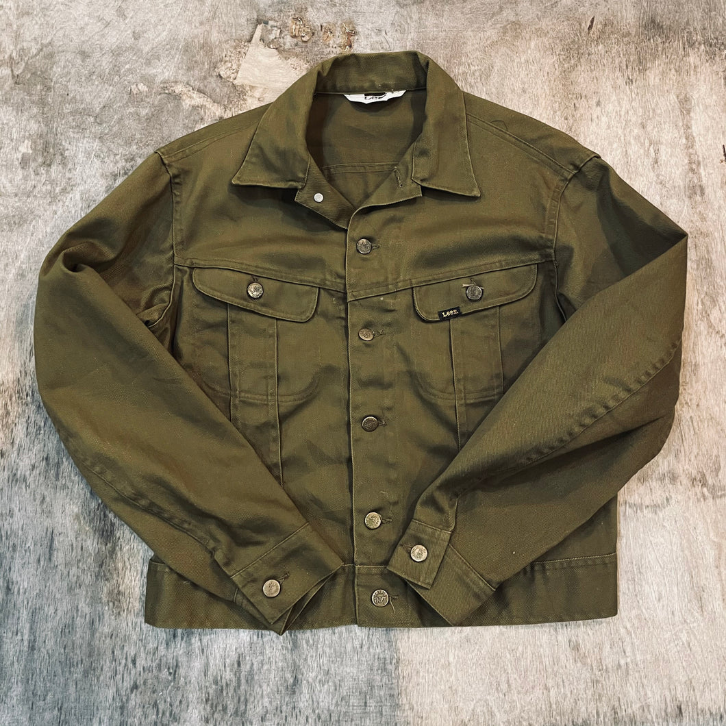 *SOLD* 70's Lee Cotton Twill Jacket