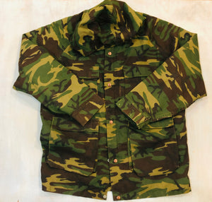 Fleece Lined Camo Jacket