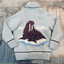 Load image into Gallery viewer, 60's Walrus Cowichan Sweater