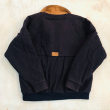 Load image into Gallery viewer, Woolrich Navy Zip Heavy Jacket