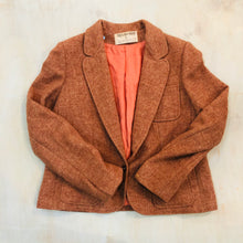 Load image into Gallery viewer, Scottish Wool Cropped Blazer
