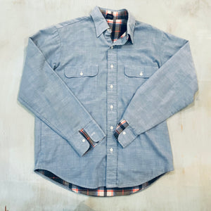 Flannel Lined Chambray Shirt