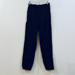 Elastic Waist/Ankle Cotton Pant