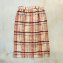 Load image into Gallery viewer, Plaid Mid-length Skirt