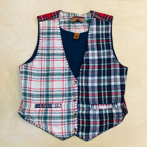 Northern Explorer Tartan Plaid Vest