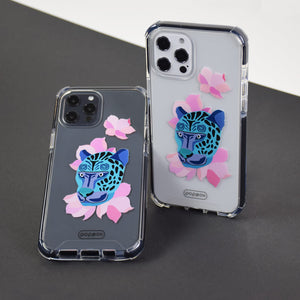 Bumper Edge iPhone 12 Pro Max - Leopard Blue