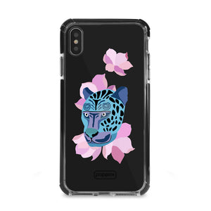 Bumper Edge iPhone XS Max - Leopard Blue