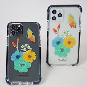 Bumper Edge iPhone 11 Pro - Butterfly Flowers