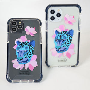 Bumper Edge iPhone 11 Pro - Leopard Blue